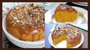 Eggless Butterscotch Cake   Whole Wheat Cake Without Oven   With Homemade Caramel Sauce and Praline