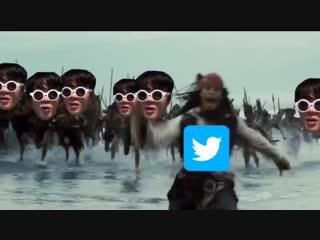 Джин и твиттер