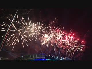 2019년 새해 불꽃 폭죽! 서울강남 삼성역 코엑스 2019년 새해 맞이 불꽃쇼. 구독자분들 새해 복많이 받으세요.^^