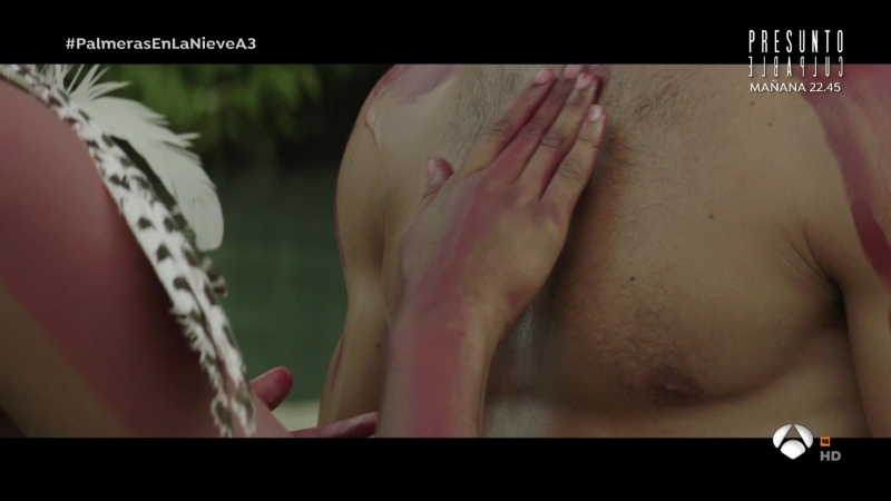 Palmeras en la nieve (2015) sexy escene 14 Berta Vázquez