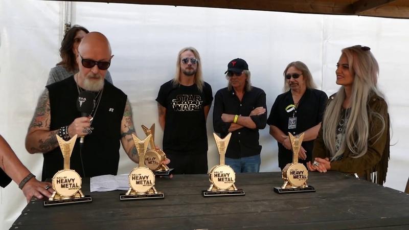 Judas Priest Hall Of Heavy Metal History Induction