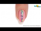 МАНИКЮР Дизайн ногтей - ВЕНЗЕЛЯ, Узоры, БИТОЕ СТЕКЛО. Нежный дизайн ногтей пошаг