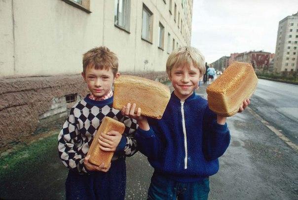 Россия, Норильск, 1992 год.