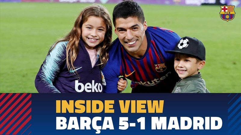 BARÇA 5-1 MADRID | Behind the scenes: before, during, and after El Clásico