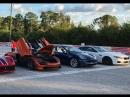 Tesla Model X P100D и Ferrari 812 Superfast сравнили в дрэг-гонке