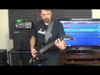 Mesa Boogie Mini Rectifier 25 and Ibanez TS9 - Thrash Metal