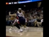 Lebron James Stepped Over his Coach Tyronne Lue