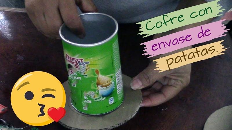 COFRE CON ENVASE DE PATATAS