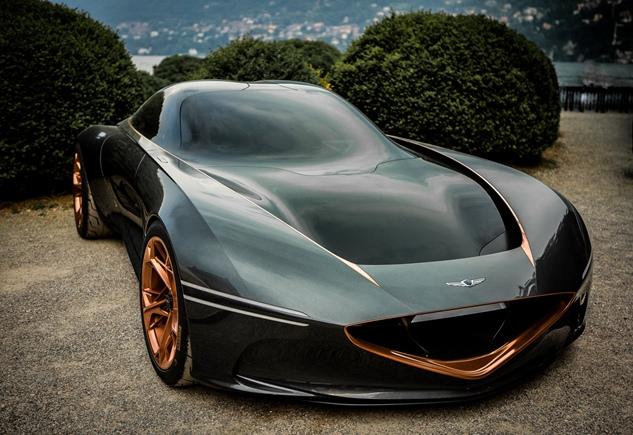 Концепт-кар GENESIS ESSENTIA завершает мировое турне появлением на неделе классических автомобилей в Монтерее
