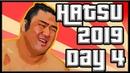 SUMO Hatsu Basho 2019 Day 4 Jan 16th Makuuchi ALL BOUTS