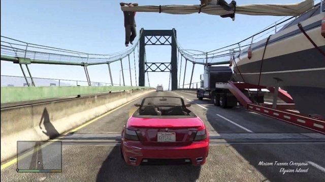 GTA V 3 серия от Shamanoidoz Дикая бегунья Папарацци и пилотки Погоня за яхтой в городе