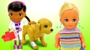 Куклы Барби Штеффи на детской площадке Доктор Плюшева для Таффи Игры для девочек
