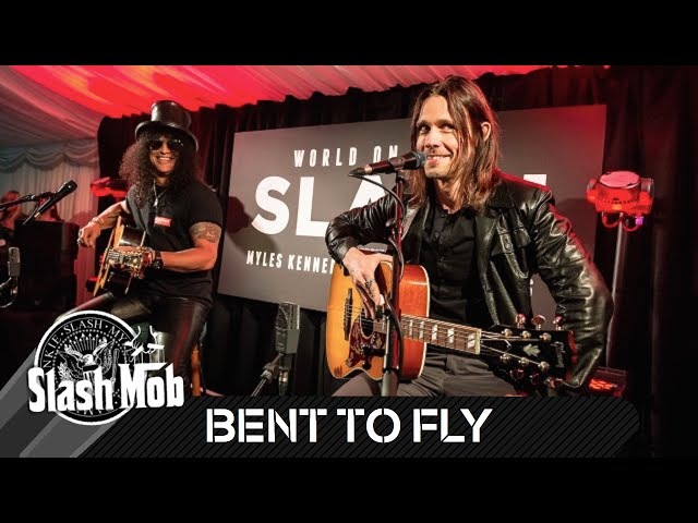 Slash Myles Kennedy - Bent To Fly (Acoustic) - Live in London 2014