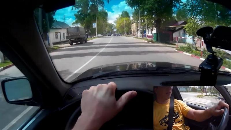 [Pavel Cherepnin] Вождение по городу с комментариями (Как сдавать экзамен по вождению) (часть 1)