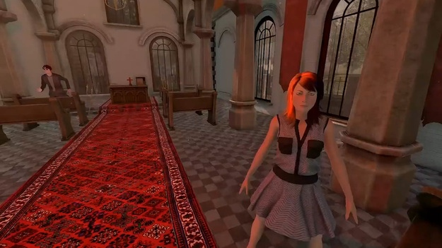 Симулятор дрочки от первого лица в открытом мире с первым трейлером
