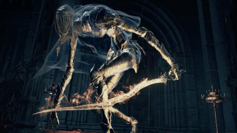 Dark Souls III Танцовщица Холодной долины