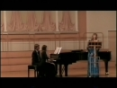 VTS 01 1 ГОСЫ 09 06 2008 Гнесинка Колледж Партию ф но исполняет Марина Корнева
