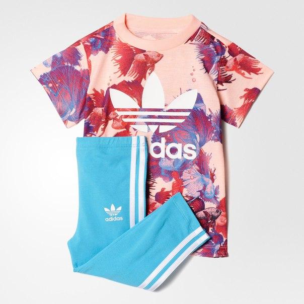 Комплект: футболка и леггинсы Trefoil