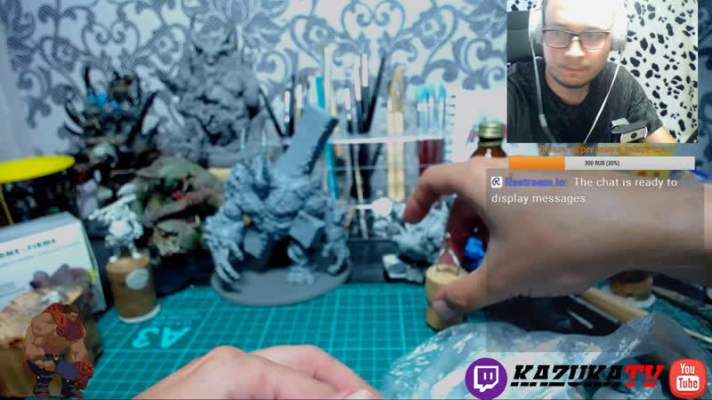 Лепка миниатюр Guild Sculping Custom Miniatures Warhammer
