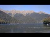 Абхазия...озеро рица