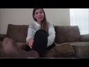 Seen and Unseen feet wotship Goddess Kendra footboy - Feet Joi - Pov