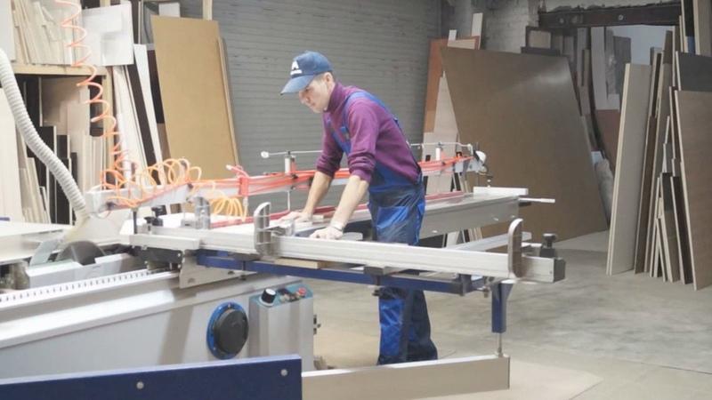 Процесс производства корпусной мебели