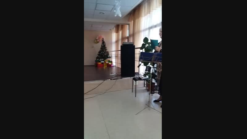 20181217 123648 17 12 18г в зале СДО 3 ул Стойкости 8 концерт русского романса в исполнении солистки хора Ульянка Левиной Л