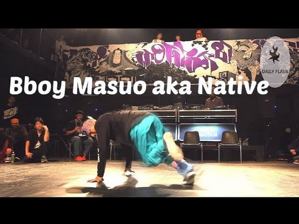 Bboy Masuo aka Native. Footwork and dance showcase. 狩人JAM (Hunter Jam) 2018