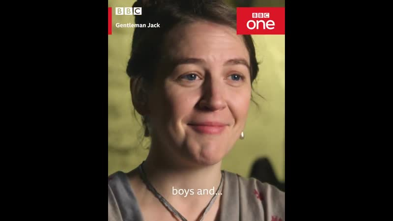 Hands up who wrote their diary in different coloured gel pens like @WhelanGemma - - The GentlemanJack cast tell us about their c