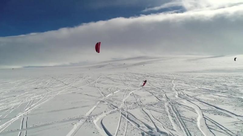 Snowkite Race Norway
