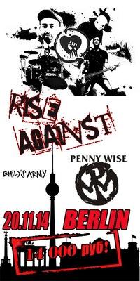 RISE AGAINST Берлин 20.11.2014