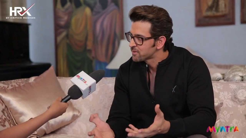 Bollywood wonder Boy Hrithik Roshan unplugged for HRX by Style Mint