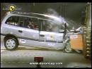 Euro NCAP Opel Vauxhall Zafira 2001 Crash test