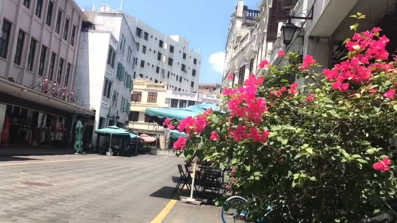 Qilou in Haikou