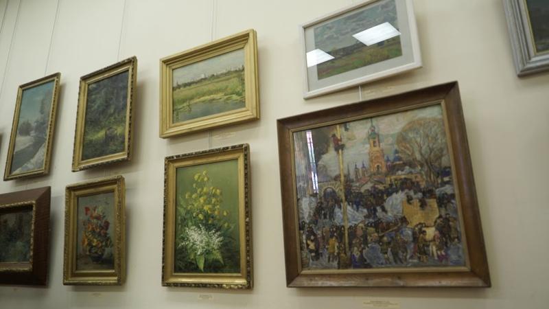 Памяти художника Игоря Горохова в Можайске открылась новая выставка