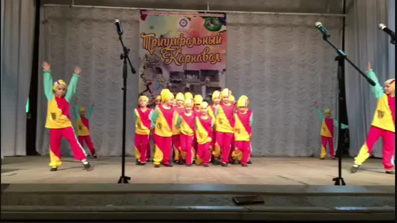 Отрывок танца Человечки сундучные средней танцевальной группы студии Глория