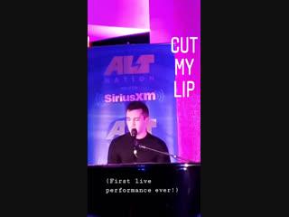 CUT MY LIP OMFG