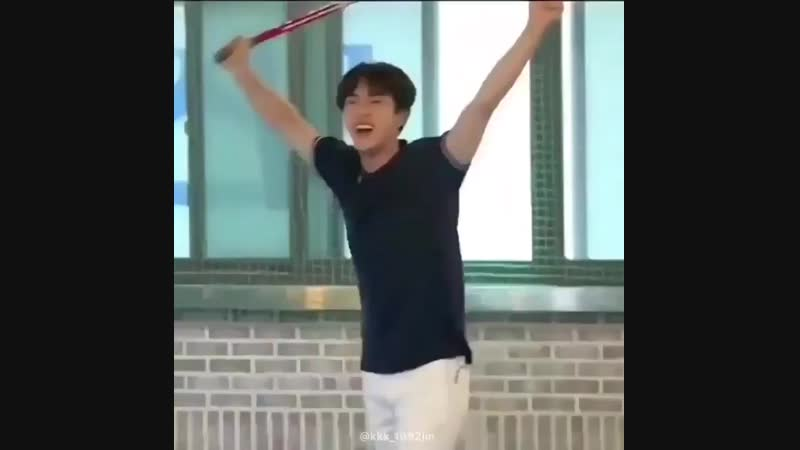 Seokjin is a five year old child and doesnt gives a fuck