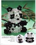 Японское бисероплетение. панда из бисера японский - Плетение бисером.