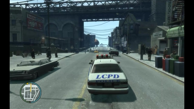 Grand Theft Auto 4 - Роман тупит и путается
