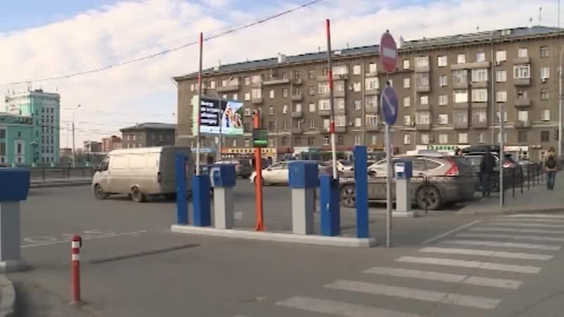В ноябре возле Дома офицеров появится платная парковка