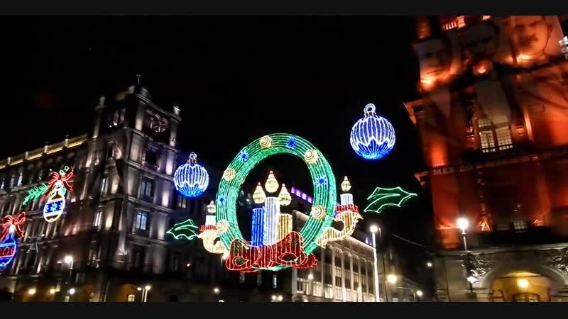 Zócalo CDMX México Navidad