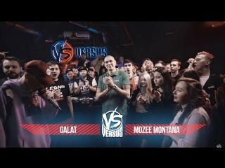 VERSUS BPM: Galat VS Mozee Montana
