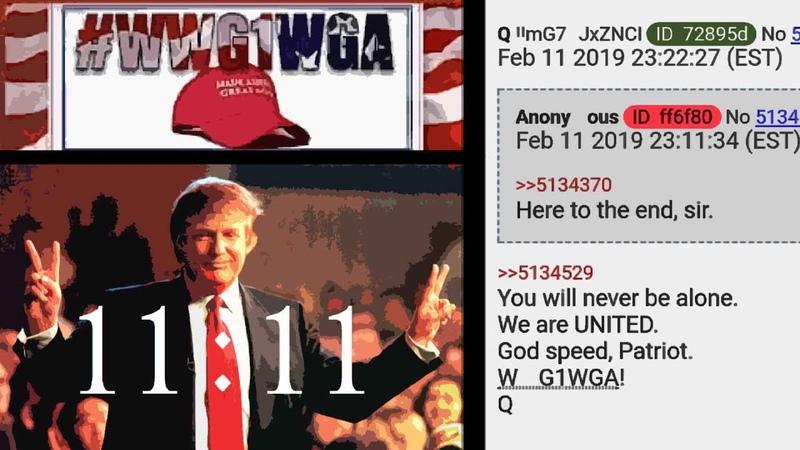 060. 2019.02.12 Q Qanon deutsch GER 2682-2699 Trump News Nachrichten