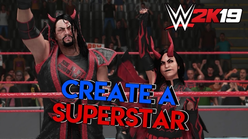 [WWE QTV]☆[WWE 2K19 | Create a Superstar | Создание Персонажей