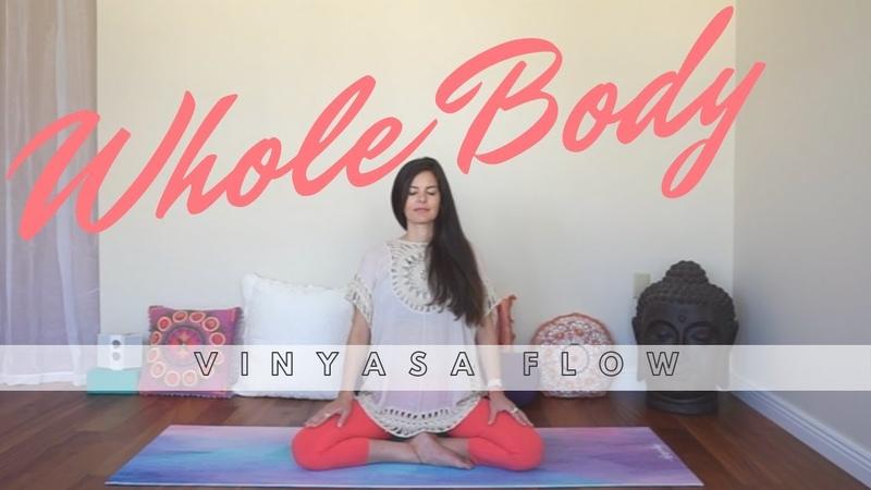 Whole Body Vinyasa Yoga Class - Mixed Level - Sample