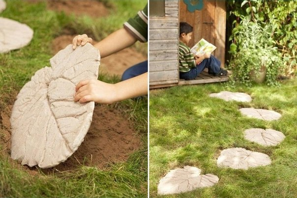 Из бетона своими руками для дизайна сада 1048