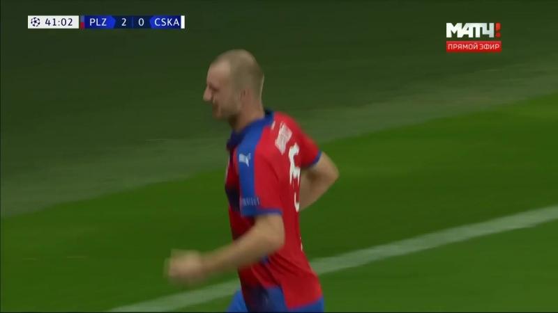 «Виктория» - ЦСКА. 2:0. Михал Крменчик дубль