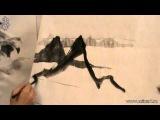 Уроки по пейзажной живописи у-син. Урок 3.4