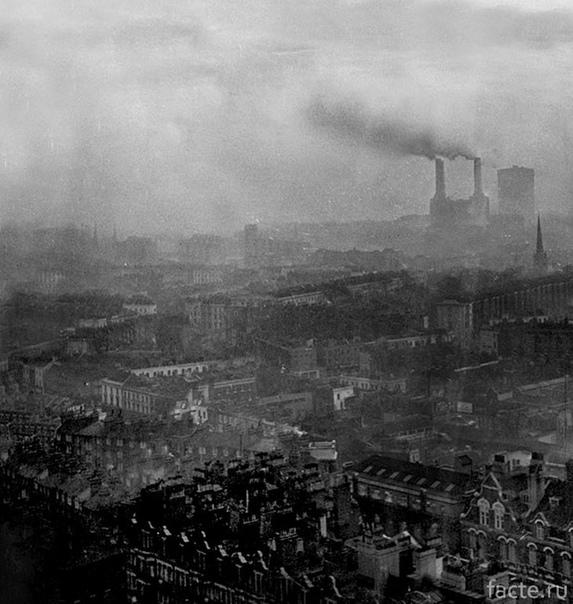 Великий смог, превративший Лондон в эталон нуара.